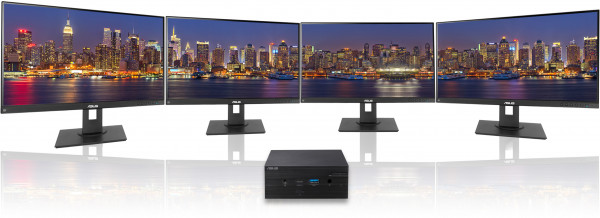 The PN50 supports up to four 4K displays at 60Hz