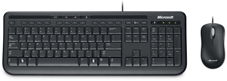 desktop 600 wired keyboard and mouse uk layout. Black Bedroom Furniture Sets. Home Design Ideas