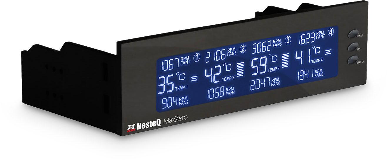 Maximum Temperature Detector For Fan Controller