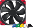 NF-A14 PWM CHROMAX 1500 RPM Premium Grade 140mm FAN