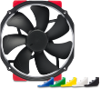 NF-A15 HS-PWM CHROMAX 1500 RPM Premium Grade 140mm FAN