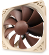 Noctua NF-P12 PWM 12V 1300RPM 120mm Vortex-Control Quiet Case Fan