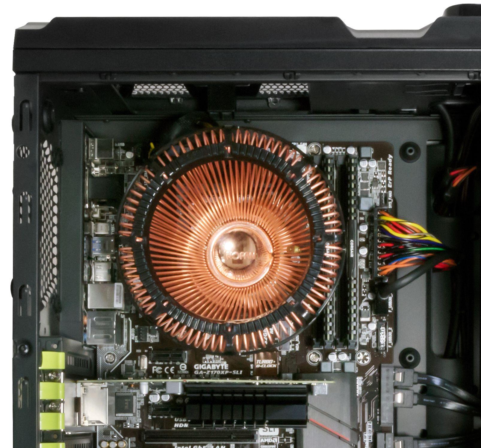 CR-80EH Copper IcePipe 80W Fanless CPU Cooler