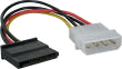 Molex IDE to Serial ATA Power Adapter Cable (Single)