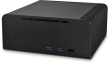 FC8OD ALPHA Black Fanless Home Theatre Aluminium Chassis