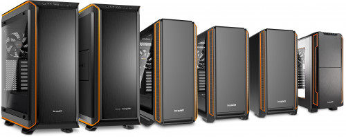 Serenity AMD Pro Gamer, be quiet chassis, 900, 800, 601 and 600